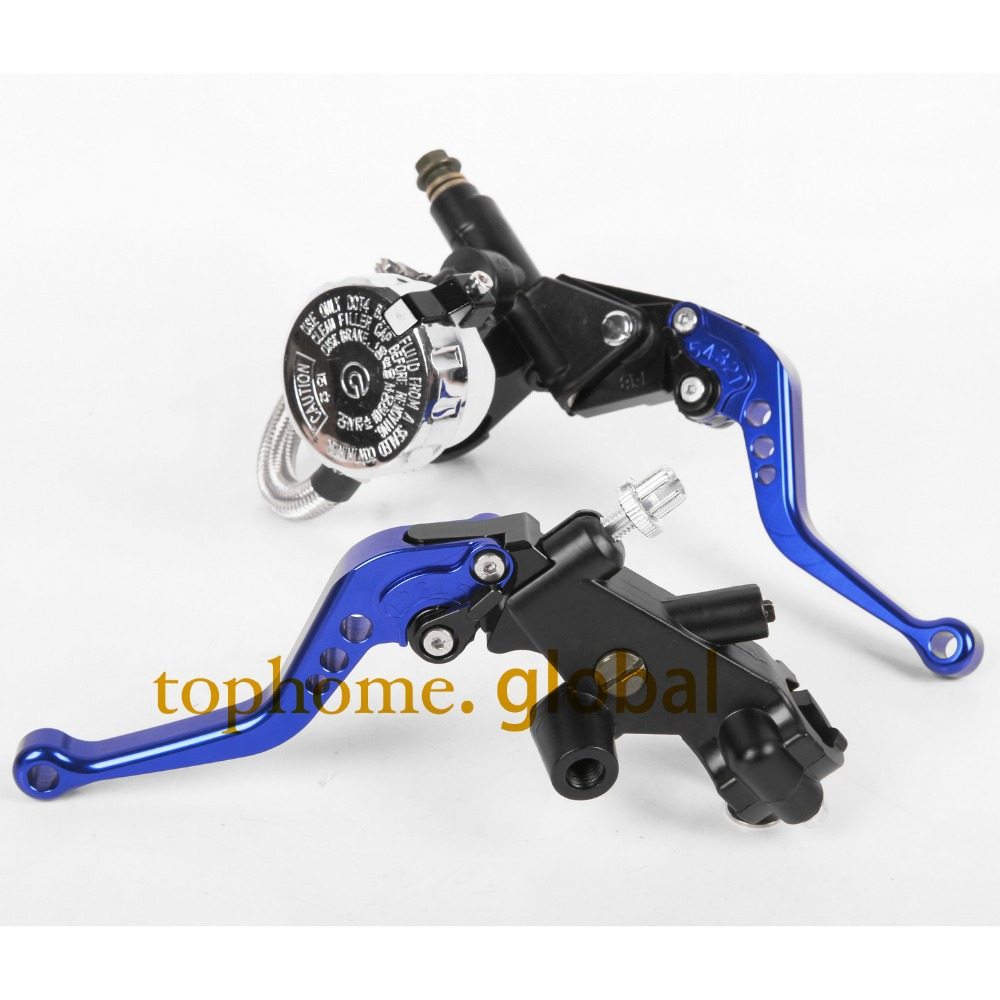 CNC Front Brake Master Cylinder&Clutch Brake Levers 7/8with Adjustable Fluid Reservoir For Yamaha YZF R1 2009-2010 2011-2014 cnc 7 8 for yamaha yz250f 2009 2014 motocross off road brake master cylinder clutch levers dirt pit bike 2010 2011 2012 2013
