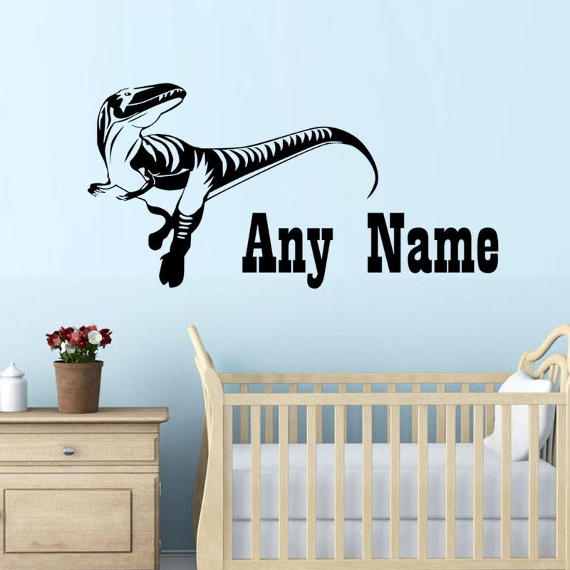 Online Get Cheap Dinosaur Names Aliexpresscom Alibaba Group - Custom vinyl wall decals dinosaur