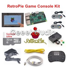 Raspberry Pi 3 Model B 32GB RetroPie Game Kit with 7 Inch 1024*600 LCD Touch Screen