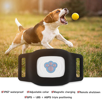 Waterproof Pet GPS Tracker Dog Cat Adjustable Collar Remote Shutdown Magnetic Charging GPS Trackers for For Universal Dogs