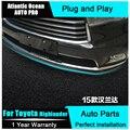 АВТО PRO 2015 Для toyota Highlander стайлинга автомобилей изменение передний бампер отделка кузова декоративные наклейки модификация
