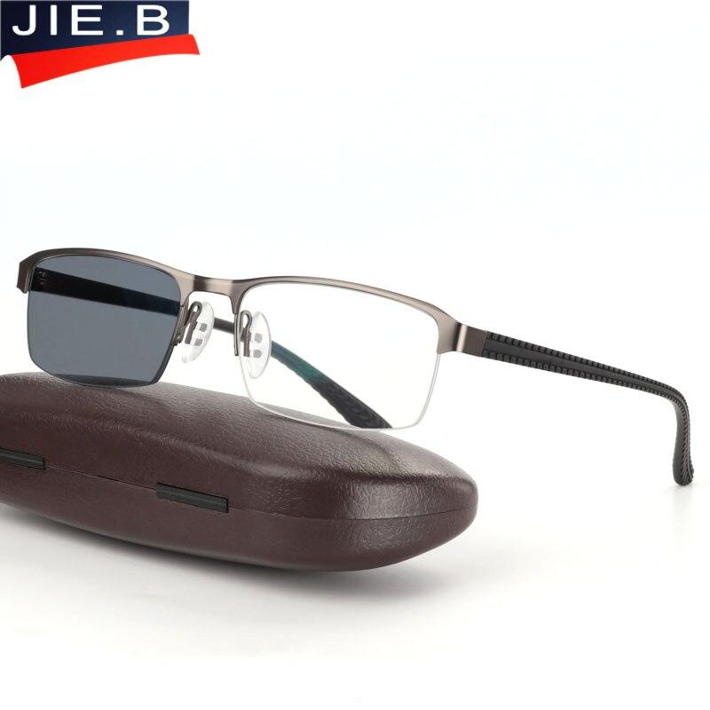 6143a3b02 B óculos de Sol De Transição Photochromic Óculos de Leitura para Homens  Óculos de Presbiopia Hipermetropia Presbiopia com dioptrias Ao Ar Livre em  Óculos de ...