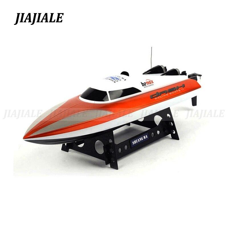 SHUANG MA 4CH 2.4G DH7010 RC bateau avec moteur à grande vitesse 46 CM télécommande vitesse bateaux bateau été jouet cadeau pour enfants