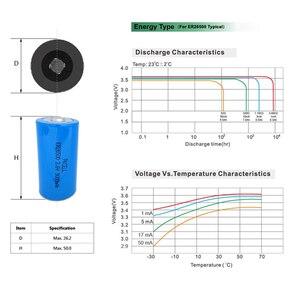 Image 5 - 20Pcs/PKCELL 3.6V C גודל ליתיום סוללה ER26500 9000Mah Li SOCl2 סוללה