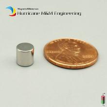 60-5000 pces ndfeb micro ímã disco diâmetro 6x6mm ímã neodímio ímãs sensor terra rara tinny ímãs grau n42 nicuni