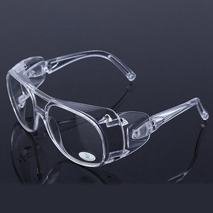 Image 3 - Clear Eyewear Safety Glasses Anti Splash Impact Resistant Working Safety Goggles For Home Dentist Eyes Protection transparent