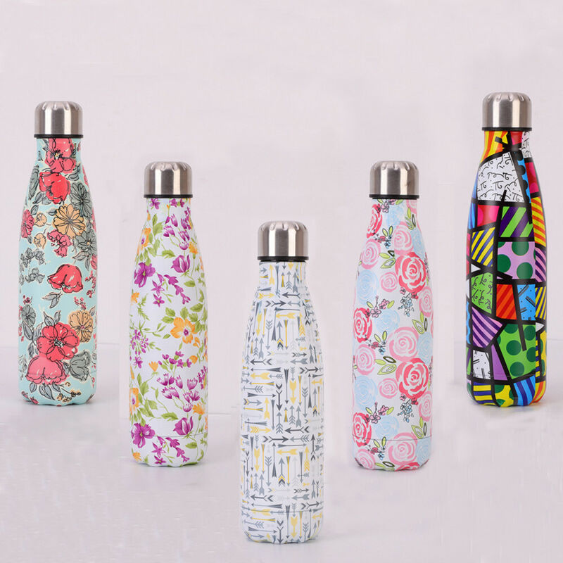 500ML Portable Thermos Bottle Girl Boy Stainless Steel Water Bottle Vacuum Flasks Insulated Cup High Capacity Student Travel Mug