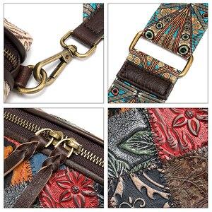Image 5 - WESTAL sacchetti di spalla delle donne del messaggero del cuoio genuino borse per le donne shell mini crossbody bag patchwork piccolo borse desinger 088