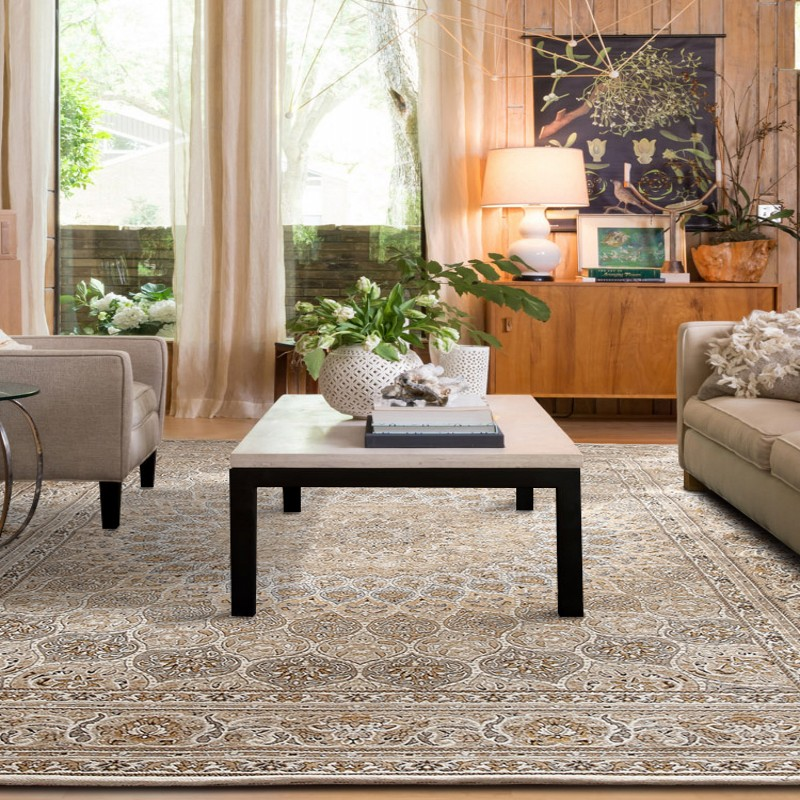 Retro American Style Machine Weaved Living Room Rug, Big Size Classical Vintage Pastoral Home Decoration Carpet ,Persian Carpet