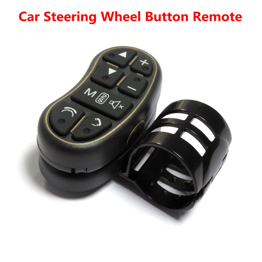 Universal Wireless Car Steering Wheel Button Remote Control Key for DVD GPS Multimedia Music Player Controller