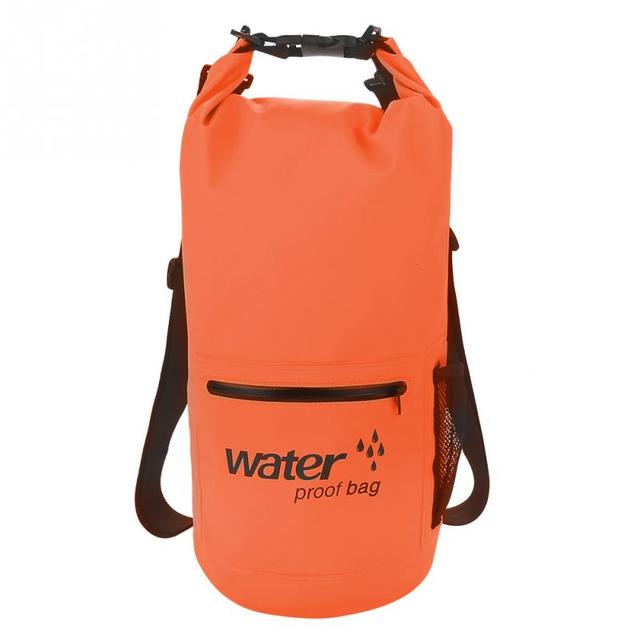 Outdoor 10/20L 500D Multi-function Waterproof Swimming Bags Floating Boating Dry Storage Bags Portable Camping Rafting Bags
