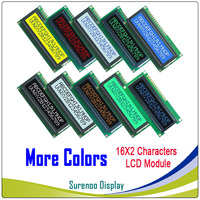 More Colors Selected Brand New 1602 162 16X2  Character LCD Module Display Screen LCM Compatible with HD44780