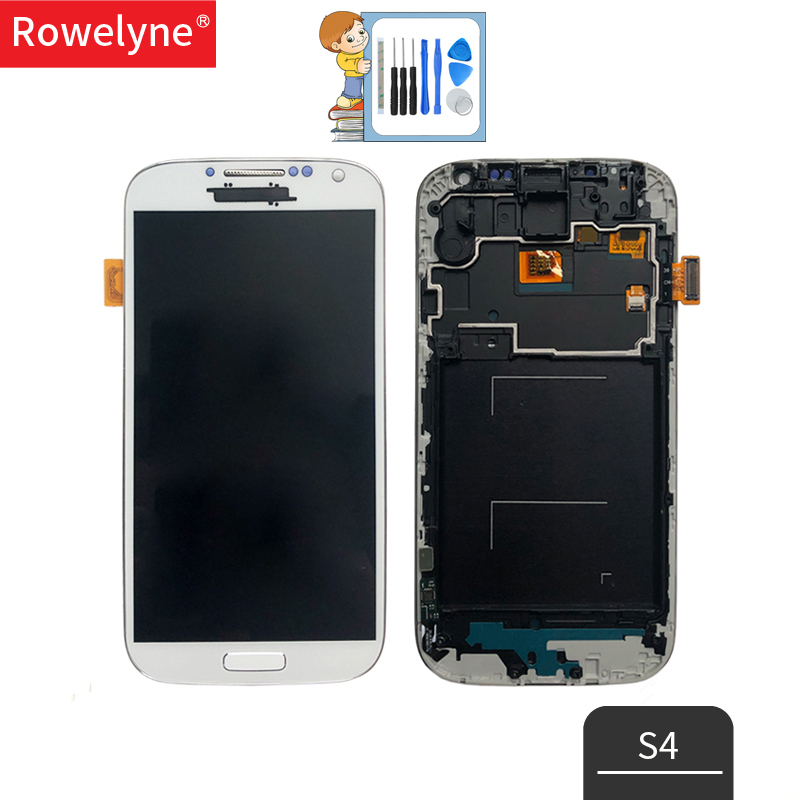 <font><b>LCD</b></font> für <font><b>Samsung</b></font> <font><b>Galaxy</b></font> <font><b>S4</b></font> <font><b>LCD</b></font> Display Touchscreen GT-i9505 I9500 Digitizer für <font><b>Samsung</b></font> <font><b>S4</b></font> <font><b>LCD</b></font> Display Ersatz Teile image