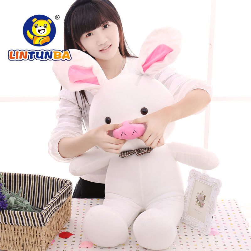 1pcs 50cm < Turned Out To Be A Handsome Man > Pig Rabbit Plush Toy Cuddly Doll Animal Pillow To Give Gifts