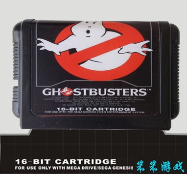 Ghostbusters - 16 bit MD Games Cartridge For MegaDrive Genesis console
