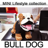 MINI Cooper Bulldog Plush Soft Toy Car Styling Car Interior Accessories