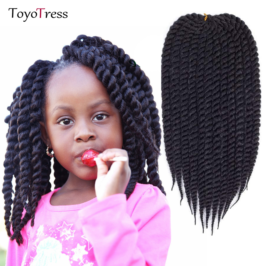 Toyotress Hair 12inch 12strands Havana Twist Braiding Hair Extensions Ombre Synthetic Kanekalon Crochet Braids Hair Braid
