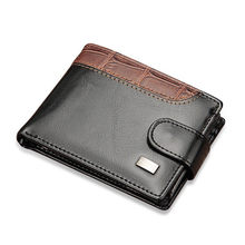 Baellerry Vintage Leather Hasp Small Wallet Coin Pocket Purse Card Holder Men Wallets Money Cartera Hombre Bag Male Clutch W066(China)