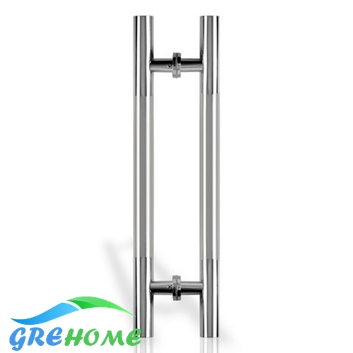24 Inches Modern Contemporary Round Bar Shape Ladder Brushed