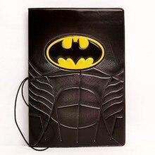 Marvel Super Hero Batman Batman multi feature board travel PVC three-dimensional voltage passport protection cover