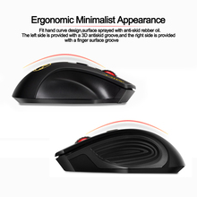 USB Wireless Mouse 2000DPI Optical Mouse Gamer 4 Buttons 2.4G  Receiver Ergonomic Design Gaming Mice For Laptop Computer Mouse