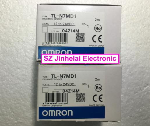 100% Authentic original TL-N7MD1, TL-N12MD1 OMRON Proximity switch 12-24VDC 2M authentic original omron limit switch ze q22 2