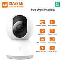 Original Xiaomi Mijia Cámara 360 grados casa panorámica WiFi Cam visión nocturna Cámara inteligente cámara web videocámara AI movimiento mejorado