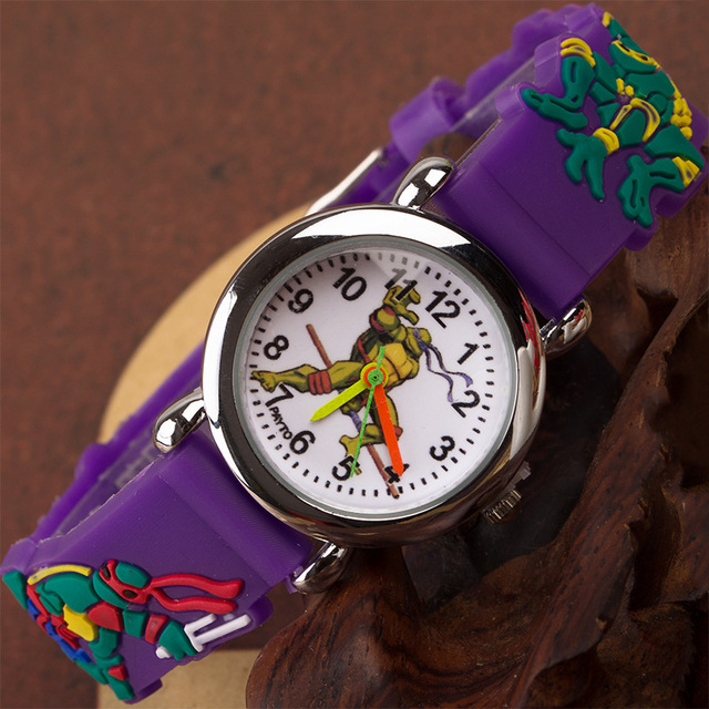 Cheap Promotion ! Kids Watch Children Quartz Watches Teenage Mutant Ninja Turtle Turtles Child Watch Sport Clock Boys Girls Gift