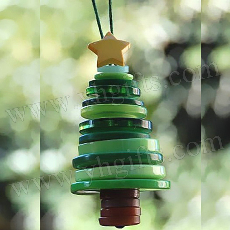 Christmas ornament craft kit - Button Tree Craft Kits Button Crafts Christmas Tree Ornaments X Mas Gifts Christmas Crafts Promotion Cheap 2x4 5cm From Reliable Craft Kit Suppliers On