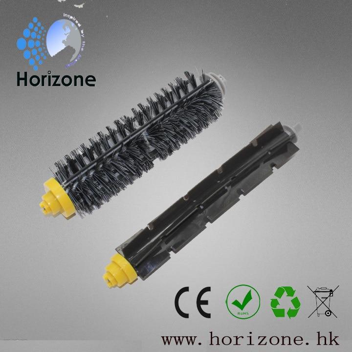 1 Set Bristle Brush and Flexible Beater Brush for iRobot Roomba 760 770 780 790 Cleaner