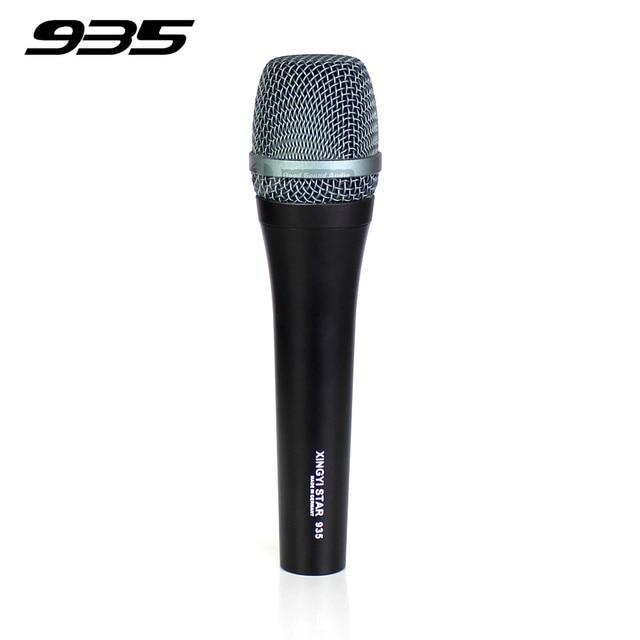 Профессиональный проводной микрофон Динамический микрофон для караоке Mic Микрофон для e935 e 935 КТВ контроллер подвижная катушка микрофоны