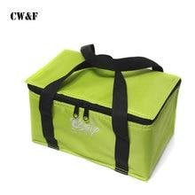 Портативный обед экономически эффективным мешок толще несколько цветов фольги Термальность сумка автомобиля охладитель сумка-холодильник Bolsa Termica