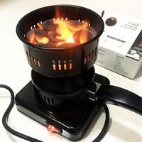 Electric Hookah Charcoal Burner Starter Shisha Coal Charcoal Lighter Tea Coffee Heater Electric Mini Stove Hot Fogao Eletrico
