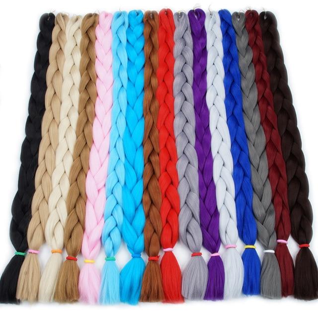 FALEMEI braiding hair 82inch 100cm fold Longth kanekalon ...