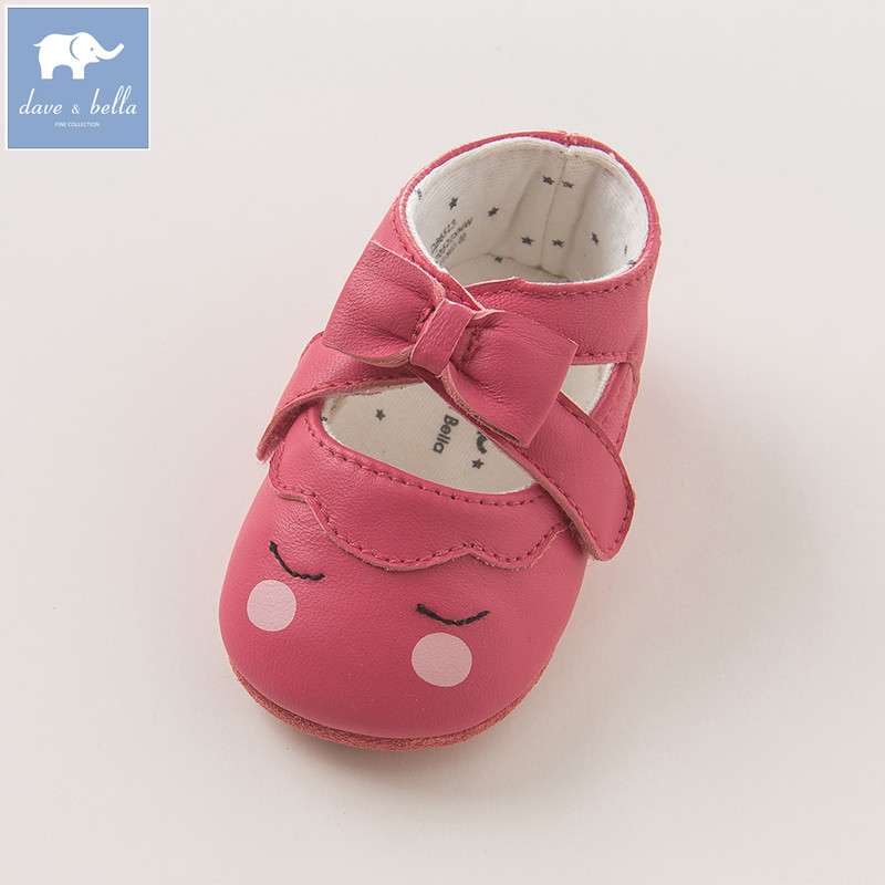 DB6513 dave bella baby girl leather shoes pre walkers first walkers