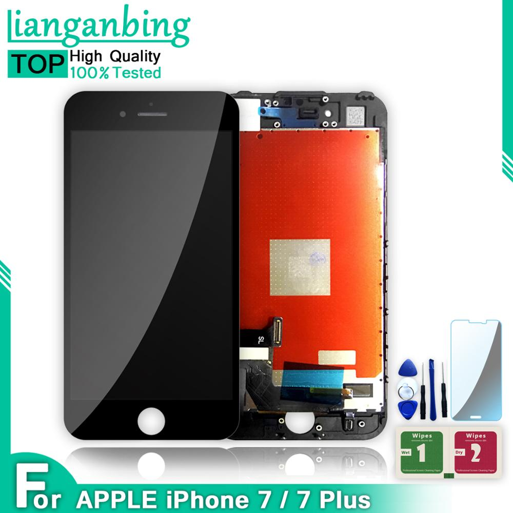 Best AAA++ Quality LCD For IPHONE 7 7 PLUS LCD Display Touch Screen Assembly Replacement For Iphone7 Iphone7 Plus With Free Gift