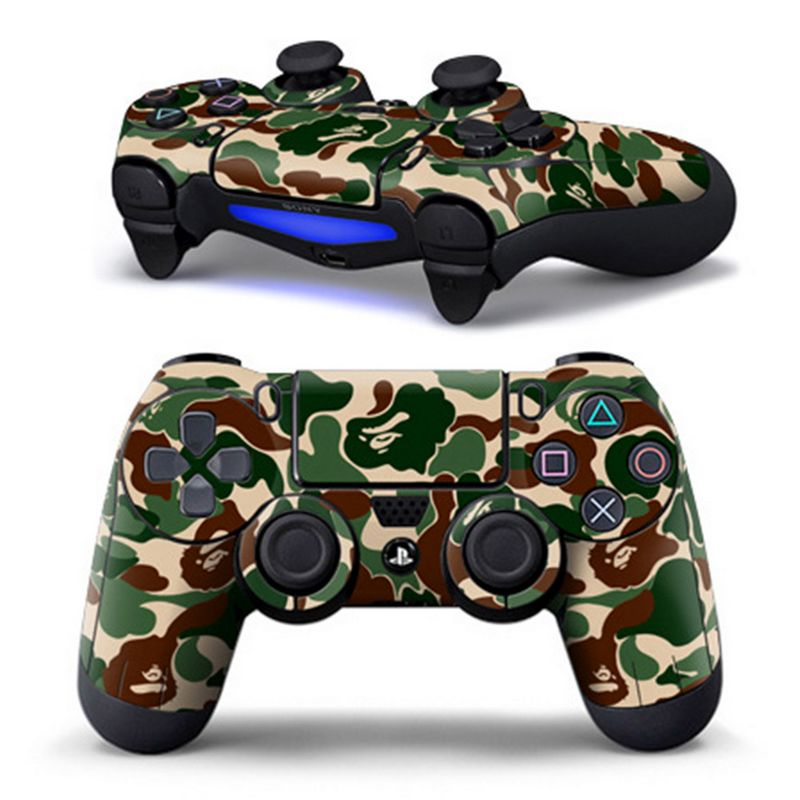 For PS4 Controller Designer Skin for Sony PlayStation 4 DualShock Wireless Controller Sticker image
