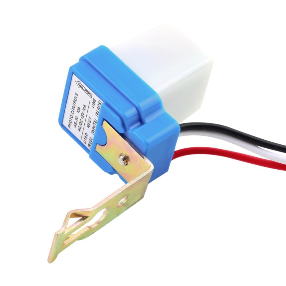 220v 120v 24v 12v 10a 6a Electronic Photoelectric Switch