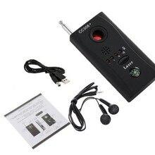CC308+ беспроводной детектор объектива камеры, радиосигнал для обнаружения камеры, полный диапазон RF Singnal Laser GSM устройство Finder с USB зарядным устройством