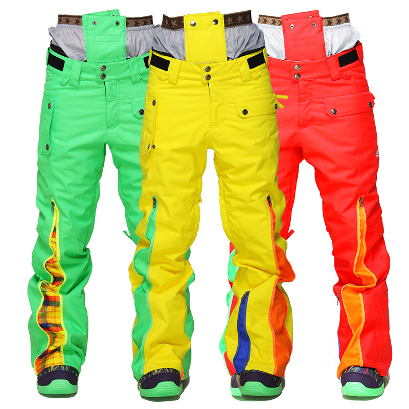 2016 Snowboard pants font b women b font Waterproof Windproof ski pants for female lady Sport