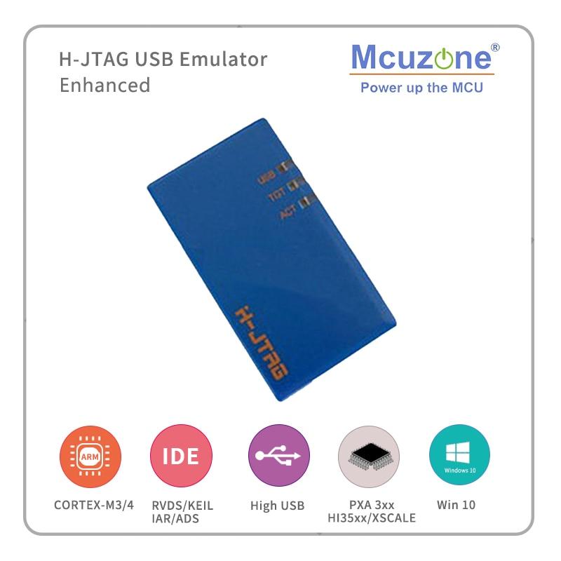 H-JTAG USB Xscale Emulator(support PXA270 PXA300 PXA310) ARM11 ARM9 ARM7 Cortex-M