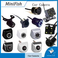 Универсальная Резервная парковочная камера 8 светодио дный ночного видения водостойкая 170 широкоугольная HD видео Автомобильная камера заднего вида