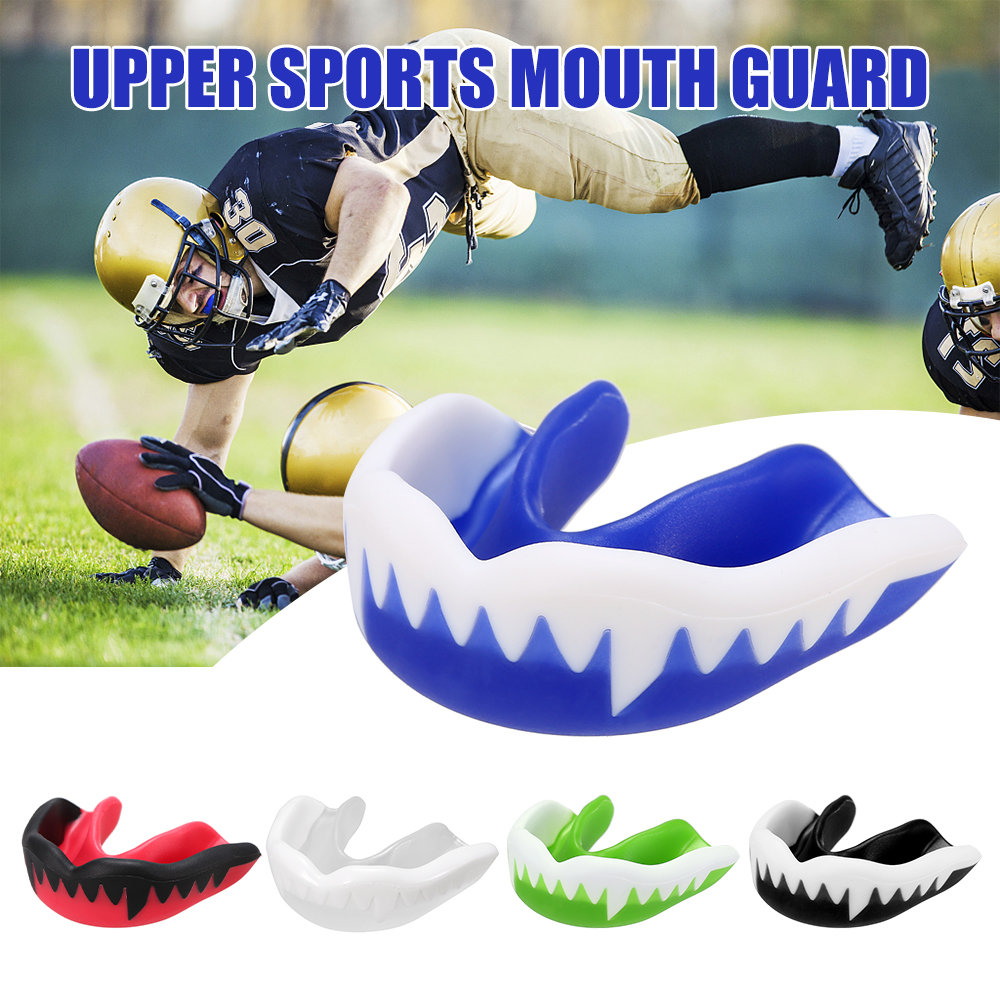 Sports Mouth Guard Food Grade Tooth Protector Boxing Karate Muay Safety Mouth-guard Boil And Bite Mouthguard Protect Tooth