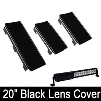 20 Inch Snap On Black Protective Lens Cover 2x 6 1x 8 For 20 22