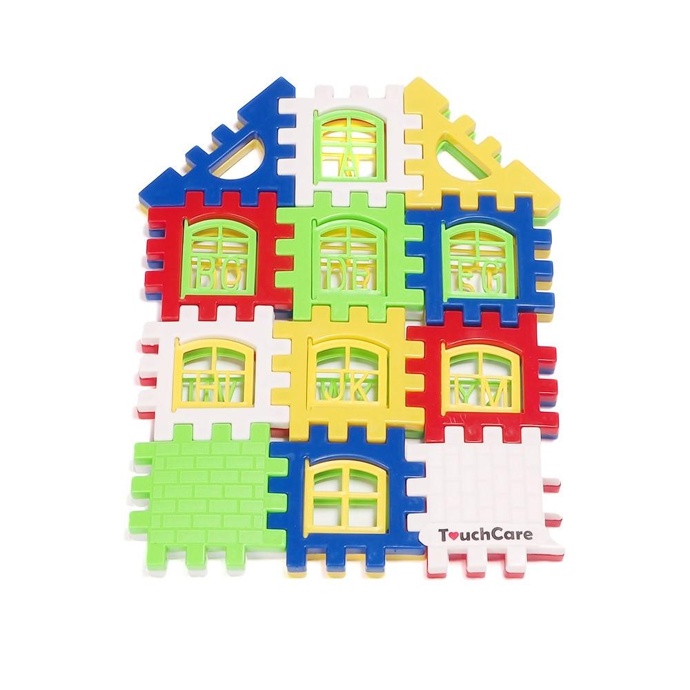 Baby Kids Children House Building Blocks Educational Learning Construction Developmental Toy Set Brain Game 11