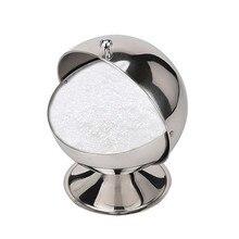 Новая Высокая емкость шар форма сахарница солонка горшок для специй банка для приготовления трав бутылки для хранения кухонные инструменты