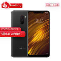 "Global Version Xiaomi POCOPHONE F1 POCO 6GB 64GB Snapdragon 845 6.18"" Full Screen AI Dual Camera LiquidCool 4000mAh Smartphone"