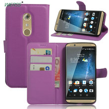 Luxury Wallet Flip Leather Case for ZTE Axon 7 (Axon 2)/A2017 A2017G A2017U phone Back Cover Housing case shell with Stand