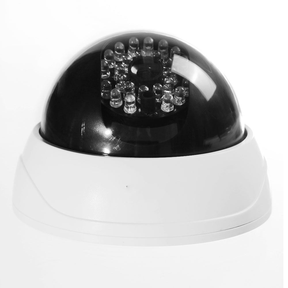 2 Packs 4 in1 Indoor CCTV Fake Dummy Dome Security Camera with IR LEDs White wavelets in geophysics 4