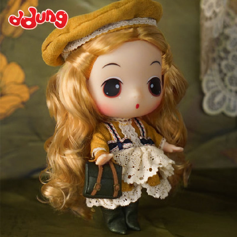 Ddung Baroque Vintage Style Dresses Blonde Girls Limited Edition18cm Change Dressing Dolls  Lovely Baby Girl Present GiftDdung Baroque Vintage Style Dresses Blonde Girls Limited Edition18cm Change Dressing Dolls  Lovely Baby Girl Present Gift
